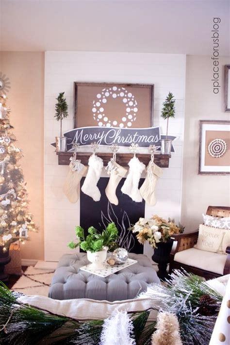Ballard Design Stockings rustic glam christmas d 233 cor trends