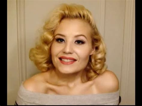 how stylist curled your hair in the 50s and 60s part ii jayne mansfield 1950s blonde bombshell hair