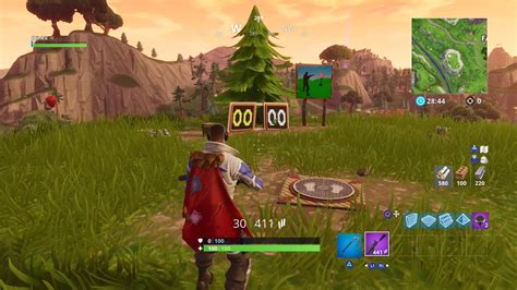 shooting gallery locations  fortnite season