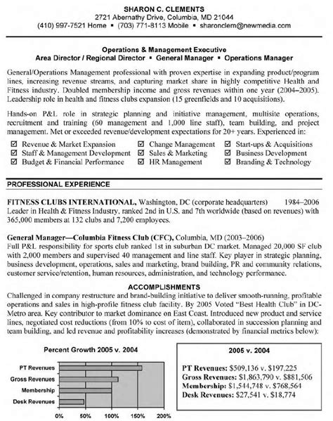 restaurant general manager resume sle exle of restaurant general manager resume general
