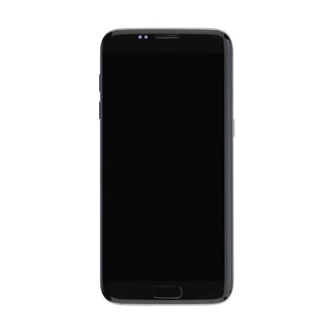 Lcd Samsung S7 Edge Black lcd touch screen with frame small parts for samsung galaxy s7 edge g935f black