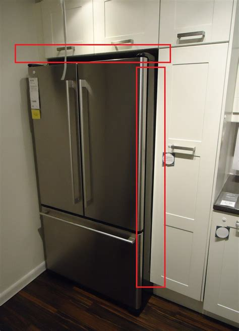 gap between top of fridge and cabinets the appliances online ultimate fridge buying guide