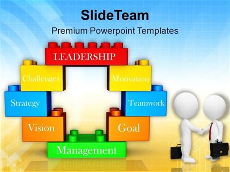 theme powerpoint lego men doing business deal lego blocks powerpoint templates