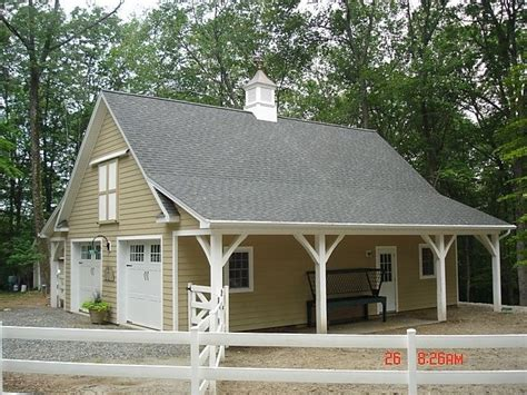 barn style garage with apartment plans my dream horse barn garage combo horses pinterest