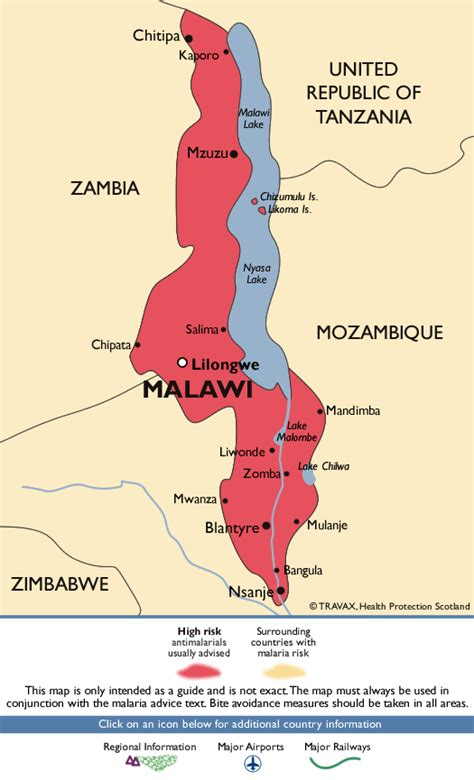 middle east malaria map malawi malaria map fit for travel