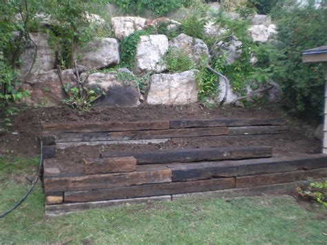 Railroad Ties For Garden by Instor Lnd Railroad Ties The Redwood Store