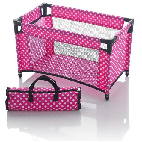Cribs With Storage by Molly Dolly Dolls Travel Cot Bed Crib Bedding With