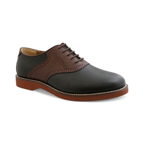 saddle oxfords shoes g h bass co bass burlington signature saddle oxford in