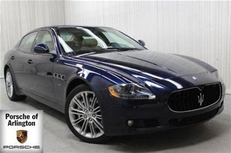 purchase used 2011 maserati quattroporte executive gt navigation rear camera quot executive pack quot in