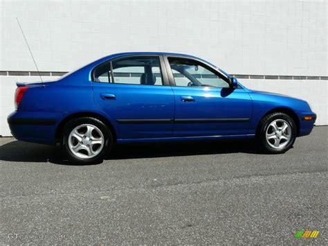 2004 hyundai elantra gt specs 2004 tidal wave blue hyundai elantra gt sedan 7436980