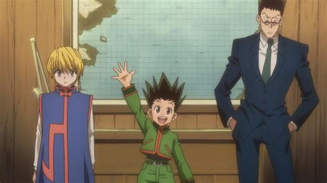 gon freeks hunter x hunter wiki fandom powered by wikia image gon talks to captain jpg hunter x hunter wiki