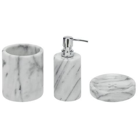heart bathroom accessories buy heart of house bathroom accessory set marble at
