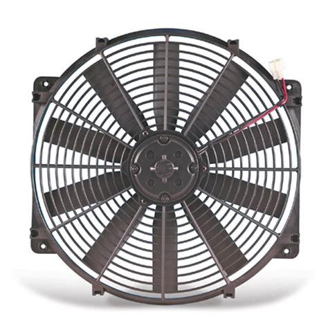flex a lite electric fan flex a lite 14 quot trimline reversible electric radiator fan