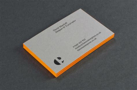 The Counter Gift Card - fpo the counter press business cards