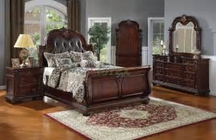bedroom furniture leather photo upholstered western sets