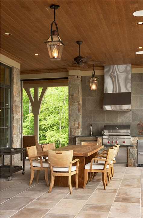 lake house with transitional interiors home bunch