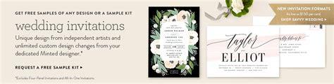 minted wedding invitations 2 wedding invitations minted