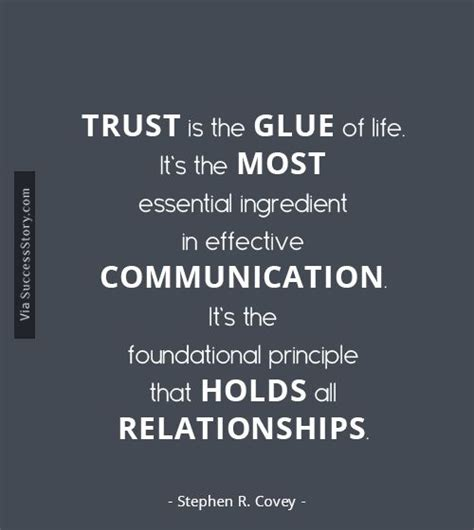 relationships r us books one of the most vital aspects of leadership is trust read