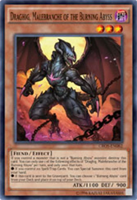 Barbar Malebranche Of The Burning Abyss tcg the burning abyss finale the organization