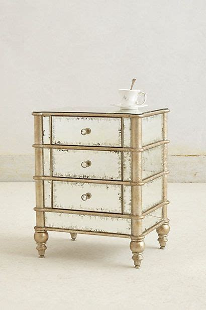 Antiqued Mirrored Nightstand by 25 Best Ideas About Mirrored Nightstand On