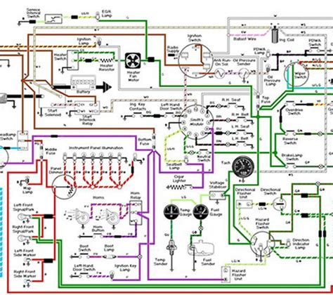 diagram of automotive electrical system images how to