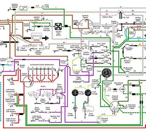 automotive electrical system diagram k