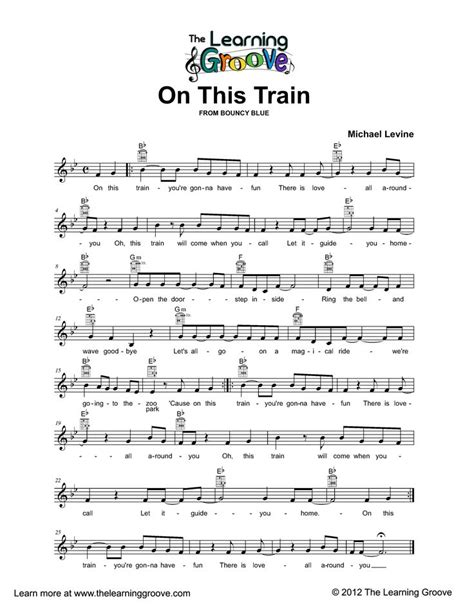 27 best images about Train Songs on Pinterest   Activities