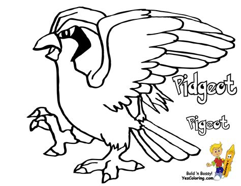 pokemon coloring pages carracosta mega pidgeot coloring pages