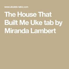 the house that built me chords quot dog days are over quot by florence the machine ukulele tabs