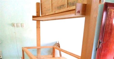 Sodet Kayu No 10 Ozone rombong kayu jati belanda etalase