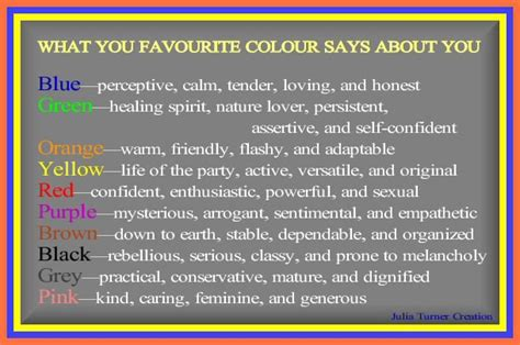 what your favourite colour says about you what your favorite color says about you forum games