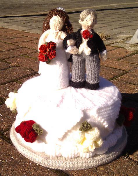 pin knitted wedding cake cake on pinterest