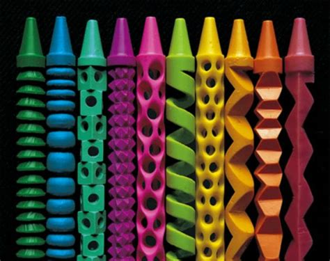 crayons designs pete goldlust carves colorful crayons into intricate