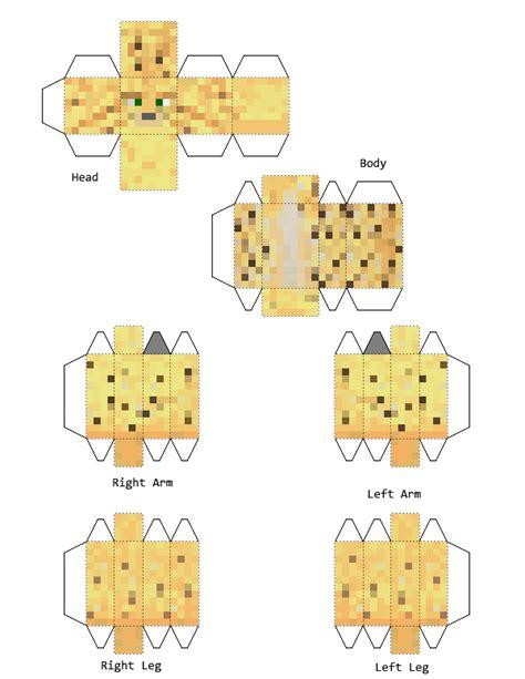 Minecraft Papercraft Ocelot - minecraft papercraft ocelot www pixshark images