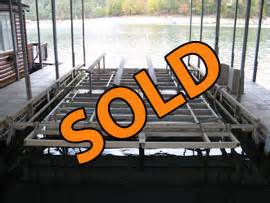 used boat lifts for sale tennessee used yachts cruisers for sale in tennessee and kentucky