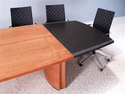 Granite Conference Table Absolute Black Granite Desk Honed Finish Stoneline Designs