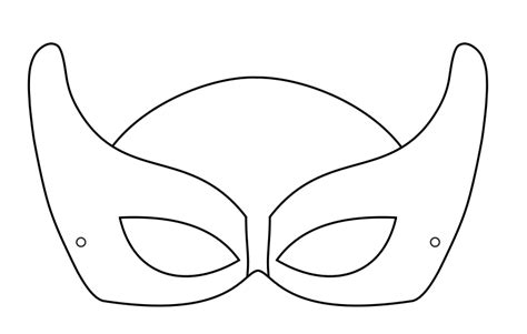 printable mask template super hero mask 1 crafts to do with kids