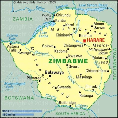 zimbabwe browse  country africa confidential