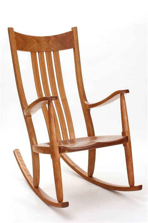 Cherry Rocking Chair - cherry rocking chairs comfortable handmade heirloom