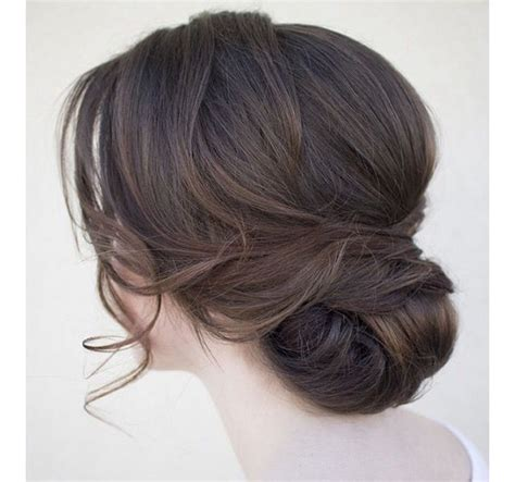 classic loose chignon wedding hairstyles hair styles