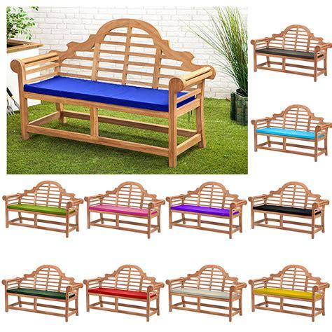 outdoor waterproof bench cushions waterproof cushion pads small lutyens teak bench garden