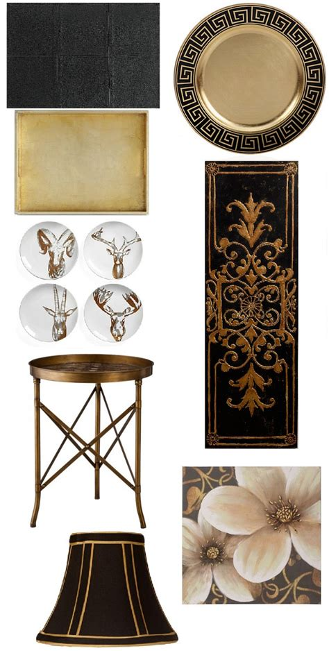 Black Home Decor Accessories by Saintsational Black And Gold Home Decor Places In The Home