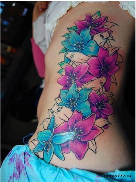 pretty flower tattoos flowers designs ideas pictures