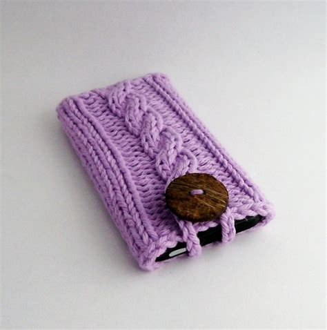 how to knit a cell phone knit mobile cell phone cover for the iphone 4 to 7 6 7