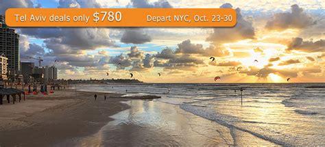 discount airfare to tel aviv