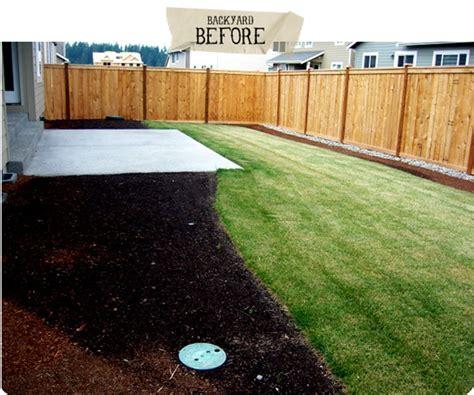small backyard ideas before after our backyard jones design company