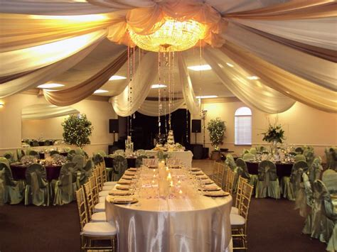 wedding reception draping wedding reception head table ceiling draping yelp