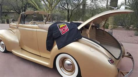 fairfield auto upholstery 1940 ford convertible