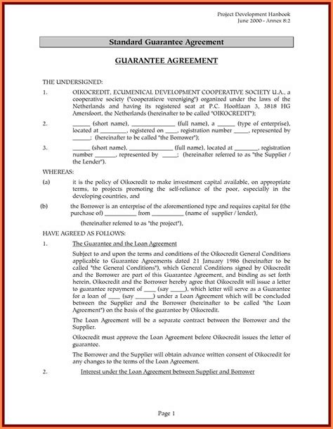 4 Sle Loan Agreement Between Family Members Purchase Agreement Group Llc Member Loan Agreement Template