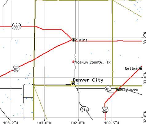 yoakum texas map yoakum county texas map images